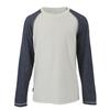 light grey marl/soft navy