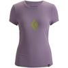 Black Diamond S/S PLACEMENT TEE Frauen - T-Shirt - THISTLE