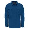 The North Face L/S SEQUOIA SHIRT Männer - Outdoor Hemd - SHADY BLUE