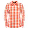 radiant orange plaid