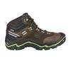 Keen WANDERER MID WP Frauen - Hikingstiefel - RAVEN/BRIGHT CHARTREUSE
