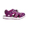 Viking THRILL Kinder - Outdoor Sandalen - PLUM/DARK PINK