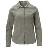 Tierra CORRESPONDENT LONG SLEEVE SHIRT W Frauen - Outdoor Bluse - BELUGA GREY