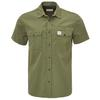 Tierra CORRESPONDENT SHORT SLEEVE SHIRT M Männer - Outdoor Hemd - FIG LEAF