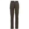 Fjällräven HIGH COAST ZIP-OFF TROUSERS W Frauen - Trekkinghose - MOUNTAIN GREY
