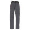 CMP PANT ZIP OFF STRETCH Kinder - Softshellhose - GREY HOT PINK