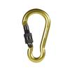 PEAR CARABINER WITH SCREW LOCK 8 MM X 80 1