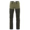 Fjällräven KEB TROUSERS M LONG Männer - Trekkinghose - DEEP FOREST-LAUREL GREEN
