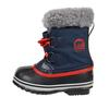 Sorel YOOT PAC NYLON Kinder - Winterstiefel - COLLEGIATE NAVY/SAIL RED