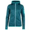 Ortovox FLEECE MELANGE HOODY Frauen - Fleecejacke - AQUA BLEND