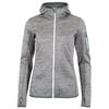 Ortovox FLEECE MELANGE HOODY Frauen - Fleecejacke - GREY BLEND