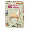 Moses Verlag EXPEDITION NATUR 50 PFERDE &  PONYS Kinder - Reisespiele - NOPUBLISHER