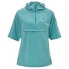 Fjällräven HIGH COAST HOODED SHIRT SS W Frauen - Funktionsshirt - LAGOON