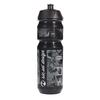 Riesel Design FLASCHE - Trinkflasche - STICKERBOMB ULTRA BLACK