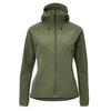 FRILUFTS ENNSKRAXN HOODED SOFTSHELL JACKET Frauen - Softshelljacke - THYME