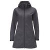 FRILUFTS GARDBY HOODED SOFTSHELL COAT Frauen - Softshelljacke - GRAY
