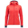 Tierra AKTSE HOOD FLEECE W Frauen - Fleecejacke - RASPBERRY RED