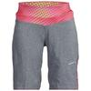 Craft VELO XT SHORTS Frauen - Radshorts - DK GREY MELANGE/P OPTIC PUSH