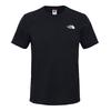 The North Face M S/S SIMPLE DOME TEE Männer - T-Shirt - TNF BLACK