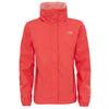 The North Face W RESOLVE 2 JACKET Frauen - Regenjacke - CAYENNE RED