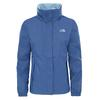 The North Face W RESOLVE 2 JACKET Frauen - Regenjacke - COASTAL FJORD BLUE