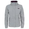 The North Face W RESOLVE 2 JACKET Frauen - Regenjacke - METALLIC SILVER