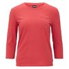 Patagonia W' S MAINSTAY 3/4 SLEEVED TOP Frauen - Langarmshirt - STATIC RED