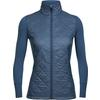 Icebreaker WMNS ELLIPSE JACKET Frauen - Wolljacke - PRUSSIAN BLUE