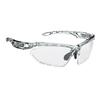 Rudy Project FOTONYK - Sportbrille - CRYSTAL GRAPHITE/BUM. WHITE