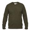 Fjällräven ÖVIK RE WOOL SWEATER M Männer - Wollpullover - DARK OLIVE