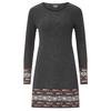 Sherpa MAYA JACQUARD DRESS Frauen - Kleid - KHARANI