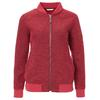 FRILUFTS LIMINKA FLEECE JACKET Frauen - Fleecejacke - DEEP CLARET