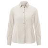 FRILUFTS KEA L/S SHIRT Frauen - Outdoor Bluse - SILVER BIRCH