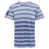 indigo light blue stripes