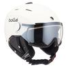 Bolle BACKLINE VISOR PREMIUM - Skihelm - SOFT WHITE/BLACK