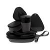 Light My Fire MEALKIT 2.0 - Campinggeschirr - BLACK