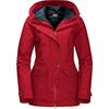 Jack Wolfskin DEVON ISLAND Frauen - Doppeljacke - INDIAN RED