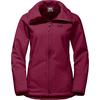 Jack Wolfskin ROCK VALLEY Frauen - Softshelljacke - DARK RUBY
