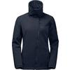 Jack Wolfskin E. VALLEY Frauen - Softshelljacke - MIDNIGHT BLUE