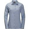 Jack Wolfskin MANITOULIN ISLAND SHIRT Frauen - Outdoor Bluse - BLUE INDIGO CHECKS