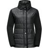 Jack Wolfskin CLARINGTON Frauen - Übergangsjacke - BLACK ALL OVER