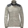 Jack Wolfskin AQUILA JACKET Frauen - Fleecejacke - LIGHT SAND