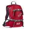 Jack Wolfskin KIDS AKKA PACK Kinder - Kinderrucksack - DARK RED