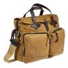 Filson 24-HOUR TIN BRIEFCASE - Umhängetasche - DARK TAN
