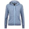 Supernatural TEMPO HOODY Frauen - Wolljacke - LIGHT TEMPEST 3D/STONE BLUE