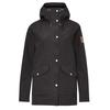Fjällräven GREENLAND ECO-SHELL JACKET W Frauen - Regenjacke - BLACK