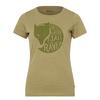 Fjällräven FOREVER NATURE T-SHIRT W Frauen - T-Shirt - GREEN
