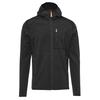 Fjällräven KEB FLEECE HOODIE M Männer - Fleecejacke - DARK GREY-BLACK