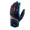 Sealskinz DRAGON EYE MTB Unisex - Fahrradhandschuhe - BLACK/ORANGE/BLUE