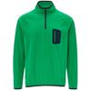 FRILUFTS GORBEA FLEECE L/S ZIP SHIRT Männer - Fleecepullover - BRIGHT GREEN